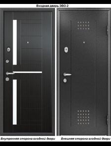 Металлическая дверь Юг Эво-2 Венге