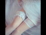 Свадебные чулки и колготки.