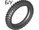 ! Б/У - Tire 100.6mm D. Motorcycle, Black (11957 / 6021952) - Б/У