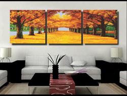 Осенний парк (триптих)