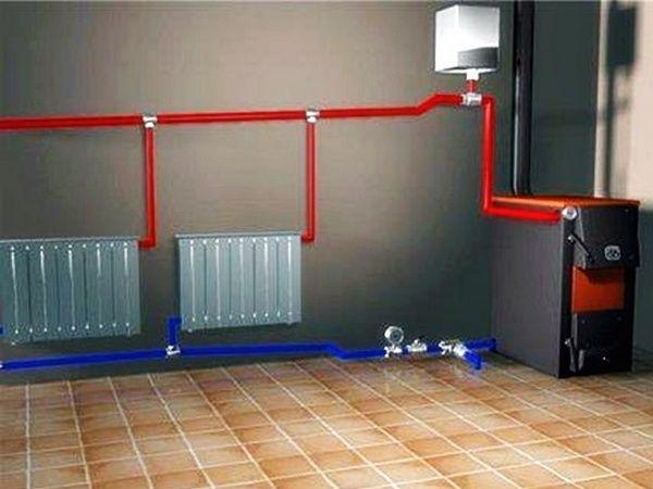 Видео отопление частного дома своими руками