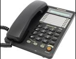 KX-TS2365UAB (цвет чёрный) Panasonic аналоговый телефон купить в Киеве цена