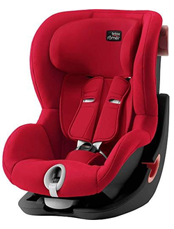 Автокресло Britax Romer King 2 (Fire red black series)