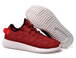 Кроссовки Adidas Kanye West красные