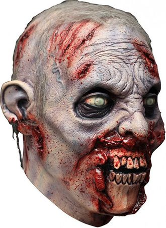 реалистичная, маска, страшная, очень, голодный, монстр, мутант, зомби, труп, мертвец, череп, кровь