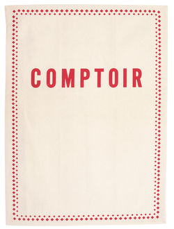 КУХОННОЕ ПОЛОТЕНЦЕ 200453 KITCHEN TOWEL W/JAR COMPTOIR TOR-COLLEC IVOR 50X70