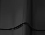 Металлочерепица SAIMAA MONTERREY PURAL MATT RR33 (черный)