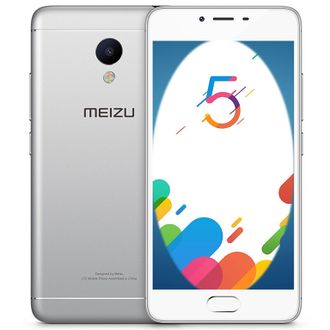 Meizu M5 note 64Gb Серебристый