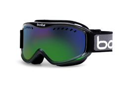 Маска Bolle CARVE black green fade/green emerald р. M