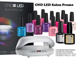 CND LED Lamp 3C Technology + 24 шт. CND Shellac + 2 шт BASE COAT 12,5 мл + 2 шт TOP COAT 15 мл.