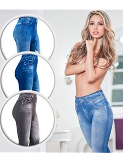 ЛЕДЖИНСЫ SLIM`N LIFT CARESSE JEANS УТЕПЛЕННЫЕ
