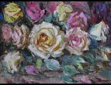 "Круглова Светлана. ""Розовый поток"", холст  / масло,  30 х 40 см., 2015 г."