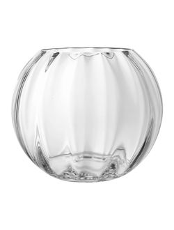 Ваза стекло VASE GLOBE CLEAR D30X25CM GLASSарт.32174