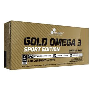 (Olimp) Gold Omega 3 Sport Edition - (120 капс)