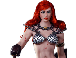 Рыжая Соня (Marvel) КОЛЛЕКЦИОННАЯ ФИГУРКА 1/6 Red Sonja: Scars of the She-Devil 1/6th Scale Action Figure PL2016-93 - TBLeague
