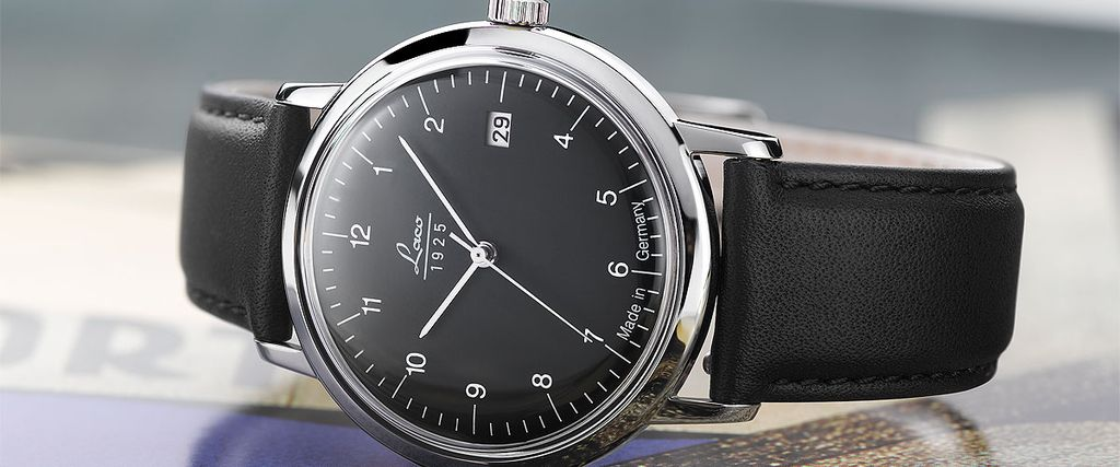 84001cdd Часы LACO VINTAGE - Часы наручные VINTAGE 38 MM BLACK 861834 ...