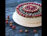 """Торт """"Фисташка-Малина"""" / Pistachio Raspberry Cake"""