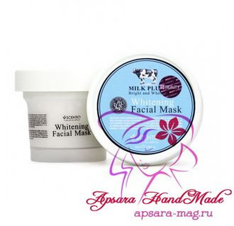 Scentio Milk Plus Whitening Q10 Facial Mask / Молочная маска для лица (100 мл)
