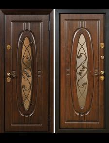 """Монарх """"Винорит"""" - Внешняя и внутренняя стороны входной двери"""