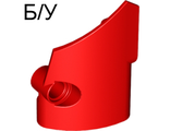 ! Б/У - Technic, Panel Fairing # 1 Small Smooth Short, Side A, Red (87080 / 4558872 / 6138745) - Б/У