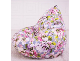 Кресло-груша МАРТА, жаккард принт