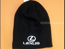 Шапка с логотпом авто LEXUS black