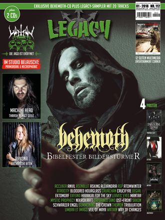 BEHEMOTH CD + Legacy 112