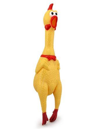 Сумасшедшая курица,  КРИЧАЩАЯ КУРИЦА, Squeeker, crazy chicken, игрушка курица, латексная игрушка