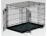 Клетка MIDWEST LIFE STAGE черная с двумя дверями - 91Х61Х69 см