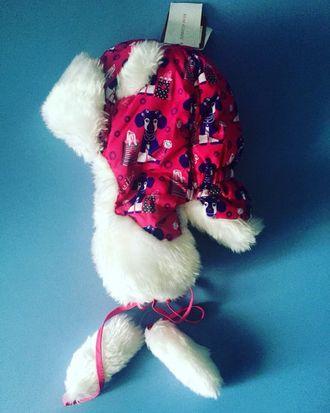 Теплая зимняя шапка-ушанка Reike цвет Pink
