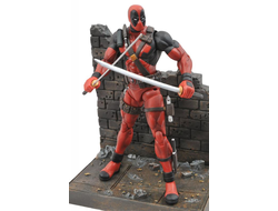 Дэдпул  с оружием / Diamond Select Toys Marvel Select Deadpool Action Figure