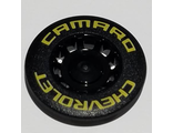 Wheel Cover 10 Spoke Recessed with 'CHEVROLET CAMARO' Pattern, Black (49098pb01 / 6253654)