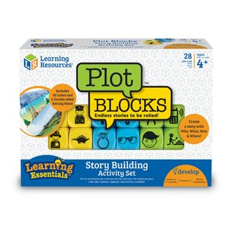 PLOT BLOCKS story building set