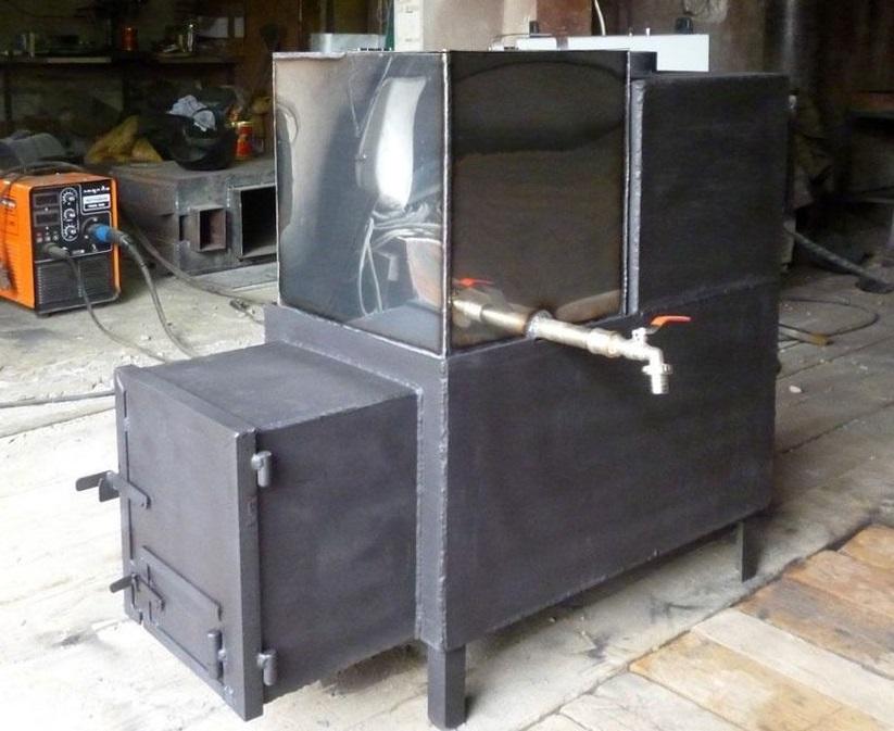 Фото железная печка для бани
