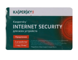 ПО Kaspersky Internet Security Multi-Device Russian Ed 2 devices 1 year Renewal Card (KL1941ROBFR)