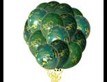шарики с гелием камуфляж