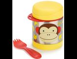 Детский термос Skip Hop Zoo insulated food Jar Monkey обезьянка