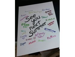 "Плакат ""See you next summer"""