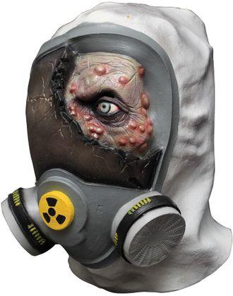 маска, зомби, токсичный, защита, противогаз, латекс, латексная, ужасная, радиация, ghoulish product