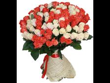 101 роза красная 101 роза букет на Облаке