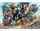 Постер Maxi Pyramid: DC: Justice League (Rebirth)