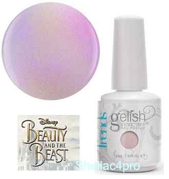 Gelish Harmony, цвет № 1110253 Enchanted Patina - Beauty and the beast Collection 2017