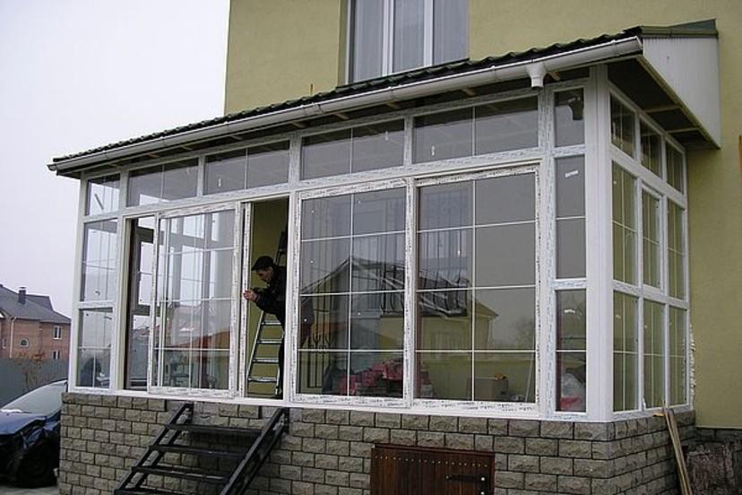 """Остекление профилем provedal балконов и лоджий """" строительст."""