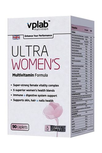 VP Laboratory Ultra Women's Multivitamin Formula, 90 капсул