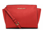 Сумка Michael Kors Selma Mini Messenger Red / Красная