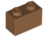 Brick 1 x 2, Medium Dark Flesh (3004 / 4569382)