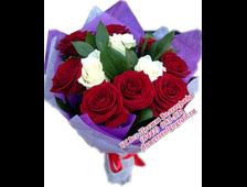 Букет С любовью...(11 роз)