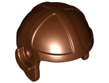 Minifig, Headgear Cap, Aviator, Reddish Brown (30171 / 4211187 / 4507049)