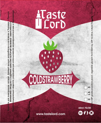 ColdStrawberry 60ml