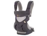 Эрго-рюкзак Ergo Baby Four Position 360 Baby Carrier - Cool Air - Carbon Grey